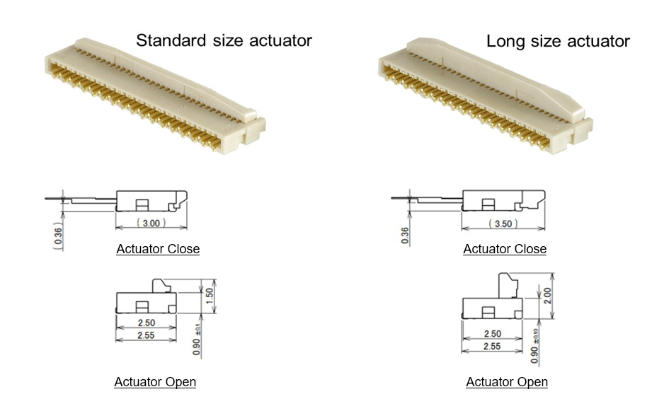 MFX3-BFN_Standard-vs-Long-actuator